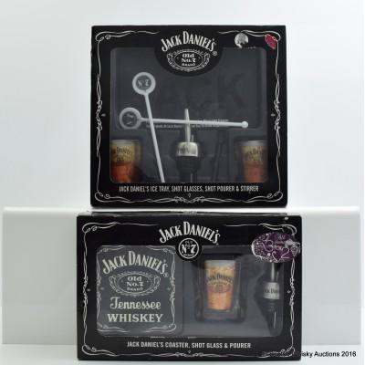 Jack Daniel's Shot Glass Sets x 2