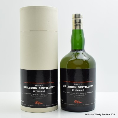 Millburn 1976 25 Year Old Whisky Shop Exclusive
