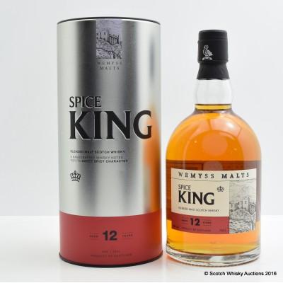 Wemyss Malts Spice King 12 Year Old Blended Malt