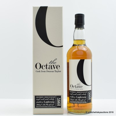 Laphroaig 1997 13 Year Old Duncan Taylor The Octave