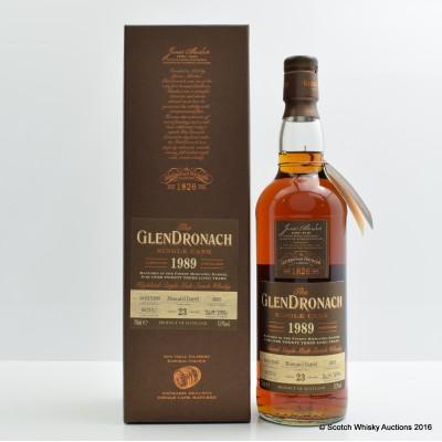 Glendronach 1989 23 Year Old Single Cask #4885