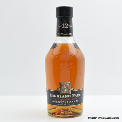 Highland Park 12 Year Old (Dumpy)
