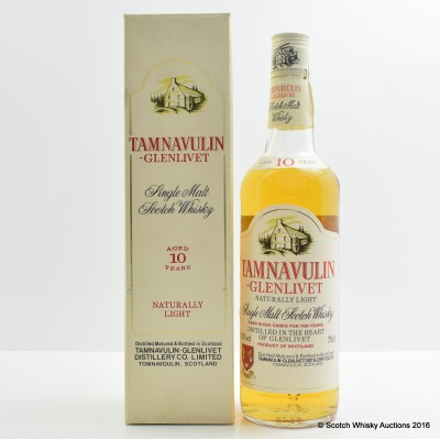 Tamnavulin-Glenlivet 10 Year Old 75cl