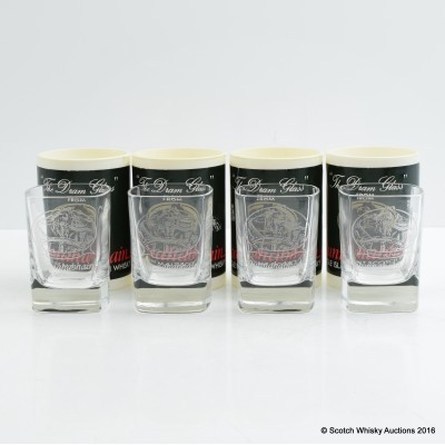Bunnahabhain Shot Glasses x 4