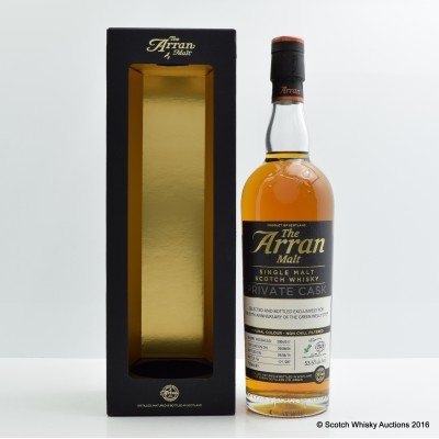 Arran Malt 2004 11 Year Old Private Cask for Green Welly 50th Anniversary