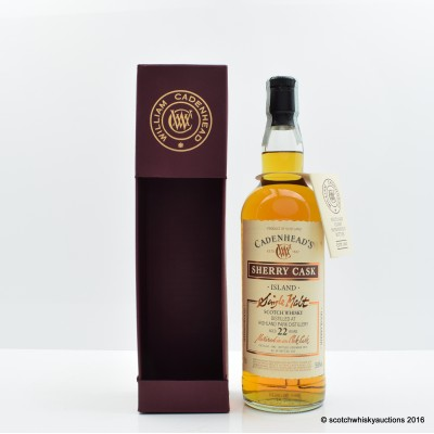 Highland Park 1992 22 Year Old Cadenhead's