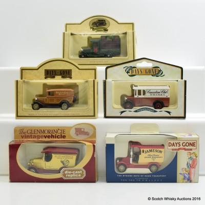 Assorted Miniature Vans x 5
