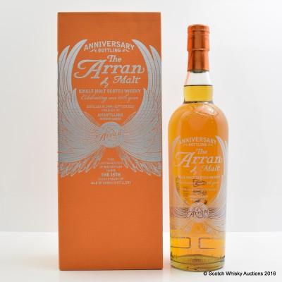 Arran 15th Anniversary Bottling