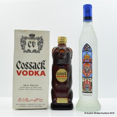 Cossack Vodka & Rrolemska Vodka