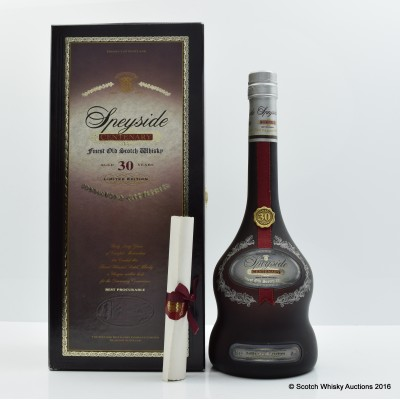 Speyside 30 Year Old Centenary Edition