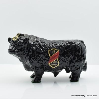Rutherford's Ceramic Bull Decanter