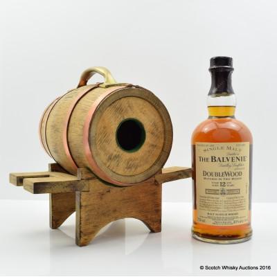 Balvenie 12 Year Old DoubleWood in Wooden Barrel 75cl