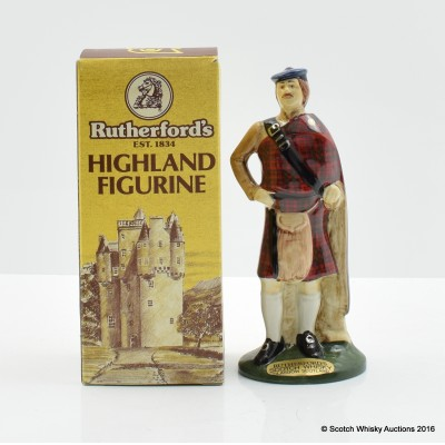 Rutherford's Highland Figurine 5cl