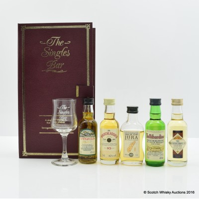 The Singles Bar Mini Collection 5 x 5cl