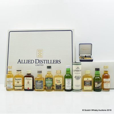 ALLIED DISTILLERS COLLECTION 10 x 5cl