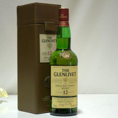 Glenlivet 12 Year Old In Leather Case