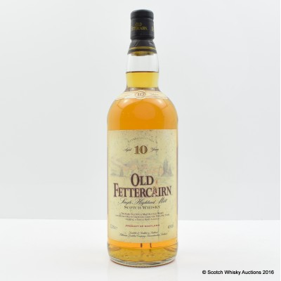 Old Fettercairn 10 Year Old 1L