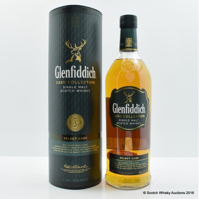 Glenfiddich Cask Collection Select Cask 1L