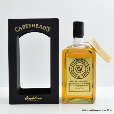 Glentauchers-Glenlivet 1976 39 Year Old Cadenhead's