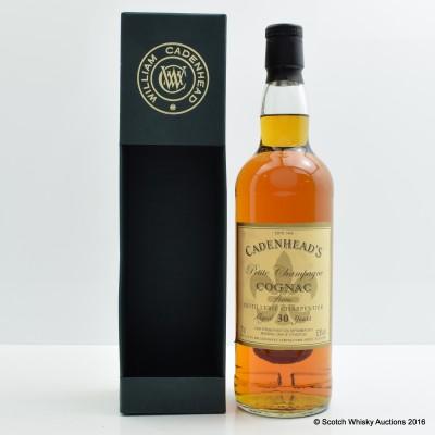 Petite Champagne Cognac 30 Year Old Cadenhead's