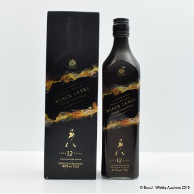 Johnnie Walker Black Label 12 Year Old Mattia Biagi Edition