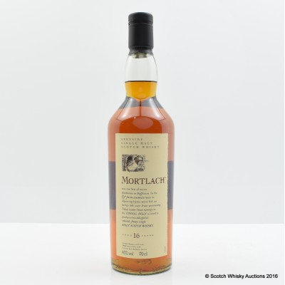 Flora & Fauna Mortlach 16 Year Old