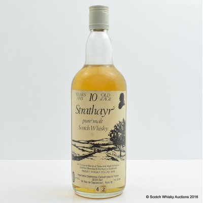 Strathayr 10 Year Old 75cl