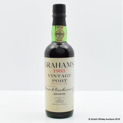 Graham's 1983 Vintage Port 37.5cl