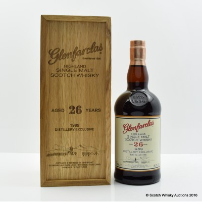 Glenfarclas 1989 26 Year Old Distillery Exclusive
