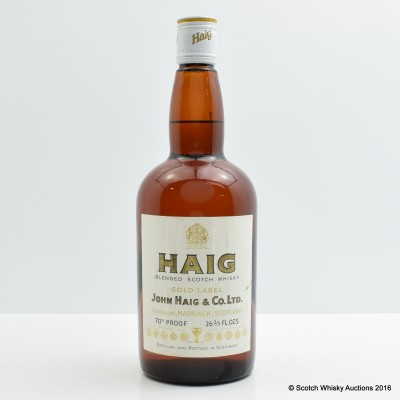Haig Gold Label 26 2/3 Fl Oz