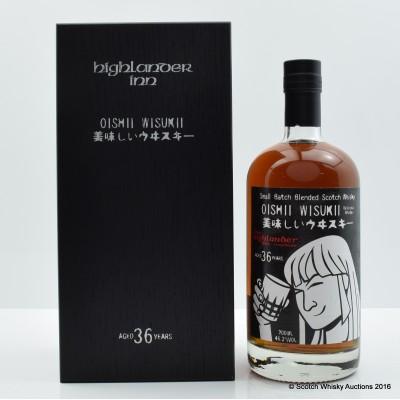 Highlander Inn Oishii Wisukii 36 Year Old