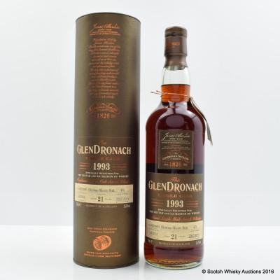 Glendronach 1993 21 Year Old Single Cask #475