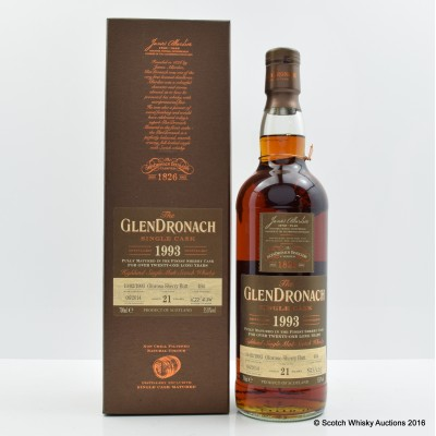 Glendronach 1993 21 Year Old Single Cask #494