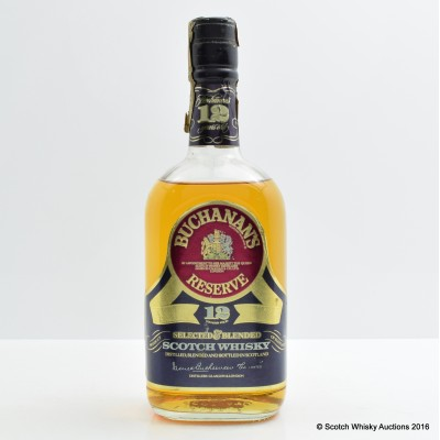 Buchanan's Reserve 12 Year Old 75cl