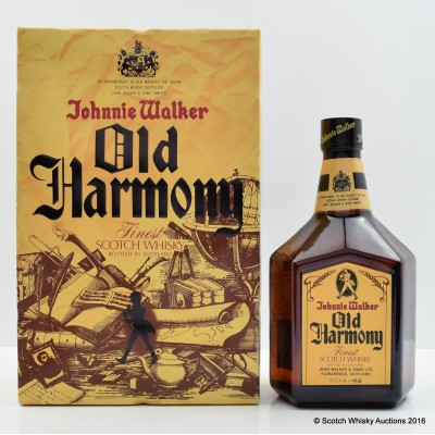 Johnnie Walker Old Harmony 75cl
