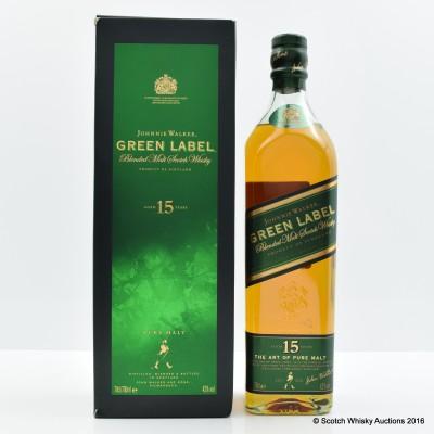 Johnnie Walker 15 Year Old Green Label