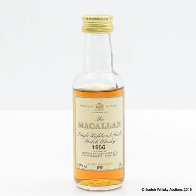 Macallan 1966 Mini 5cl