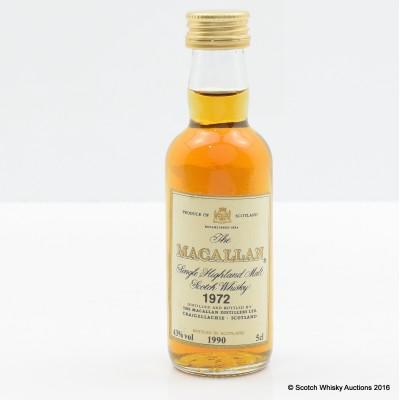 Macallan 1972 Mini 5cl