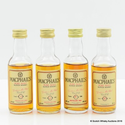 Assorted Macphail's Minis 4 x 5cl
