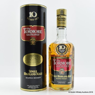 Tormore-Glenlivet 10 Year Old 75cl