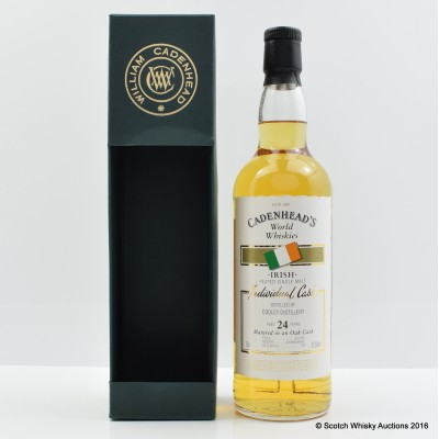Cooley Peated 24 Year Old Cadenhead's