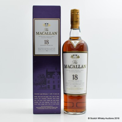 Macallan 18 Year Old 1994