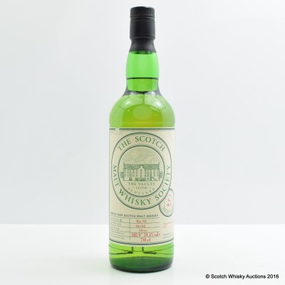 SMWS 90.5 Pittyviach 1992 10 Year Old