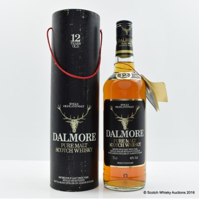 Dalmore 12 Year Old Old Style 75cl