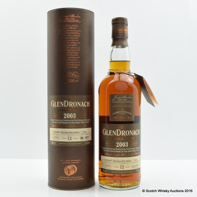 Glendronach 2003 12 Year Old Single Cask #4102 Green Welly Stop 50th Anniversary