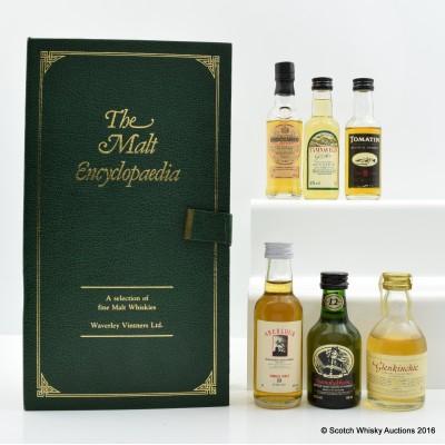 The Malt Encyclopaedia Mini Pack 6 x 5cl