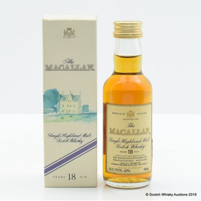 Macallan 18 Year Old Mini 5cl