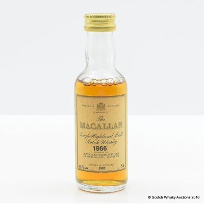 Macallan 1966 Mini 5cl