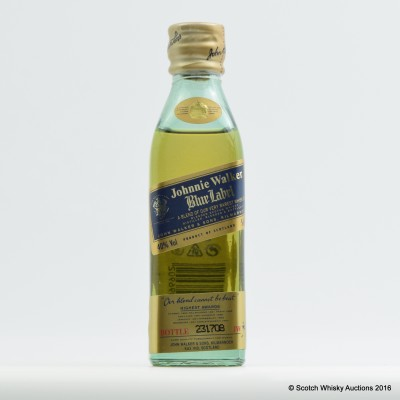 Johnnie Walker Blue Label Mini 5cl