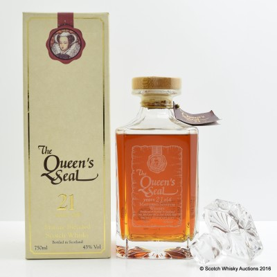 Queen's Seal 21 Year Old Decanter 75cl